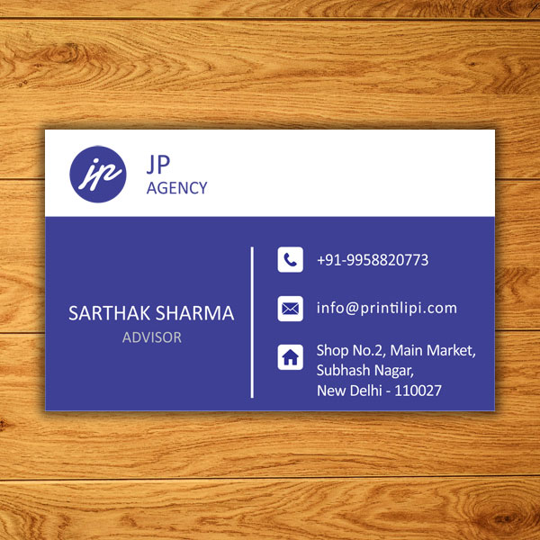 visiting card size resolution and dimension in inches